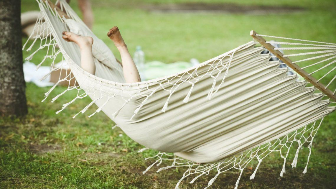 Des installations agréable pour l'été dans le jardin.